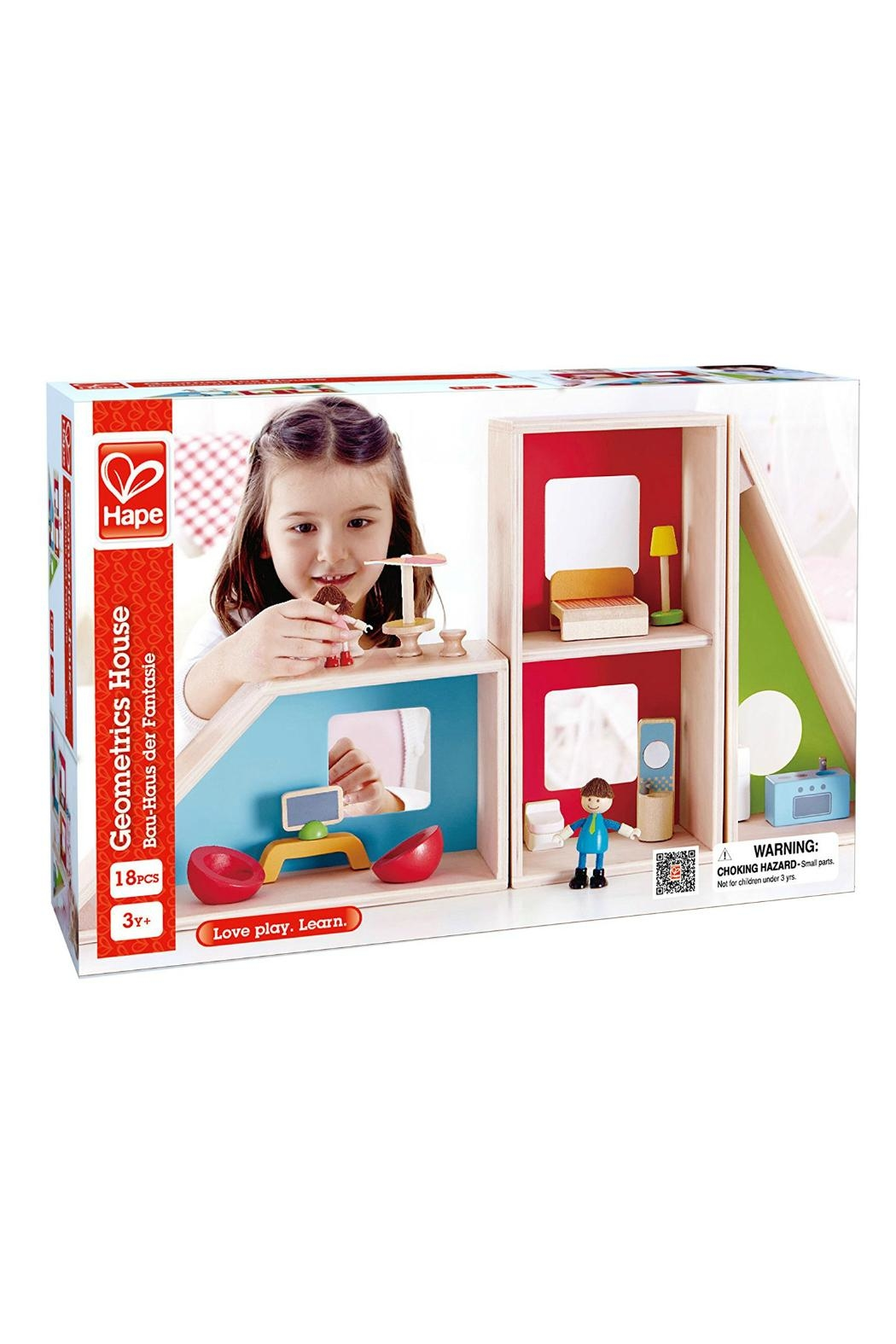 Hape Geometrics Doll House - Side Cropped Image