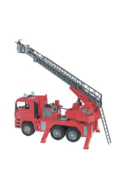 Bruder Plastic Fire Truck - Front cropped