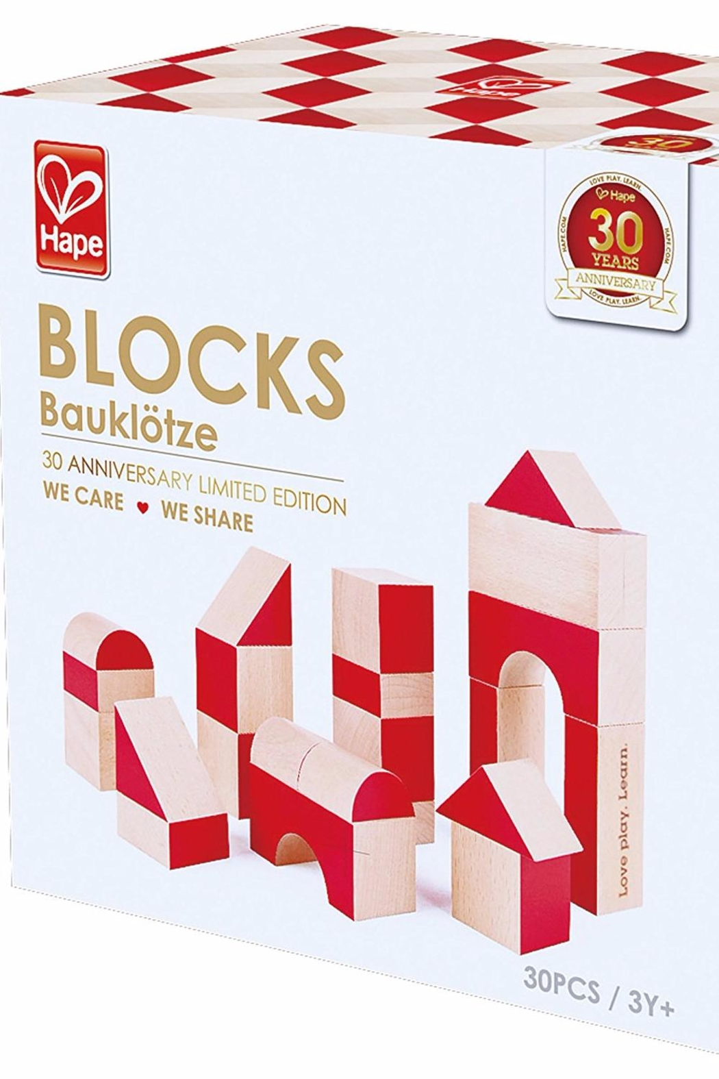 Hape We Care Blocks - Side Cropped Image