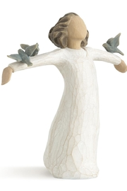 Willow Tree(r) by Susan Lordi, from DEMDACO Happiness Figurine - Product Mini Image