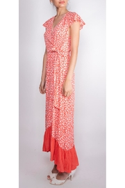 Illa Illa Happiness Floral Wrap-Dress - Front full body