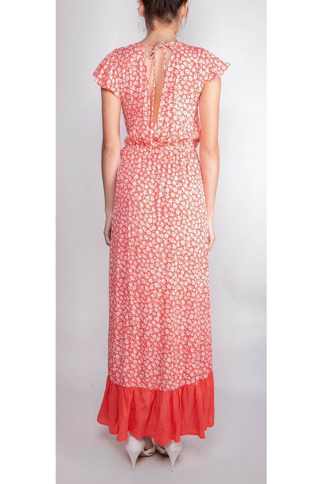 Illa Illa Happiness Floral Wrap-Dress - Side Cropped Image