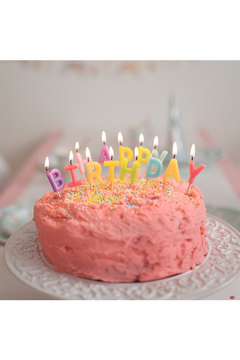Shoptiques Product: Happy Birthday Candles