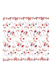 Red and White Kitchen Co. Happy Birthday Tablecloth - Product Mini Image
