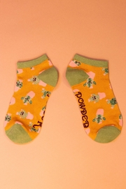Powder Happy Cacti Trainer Socks - Front cropped