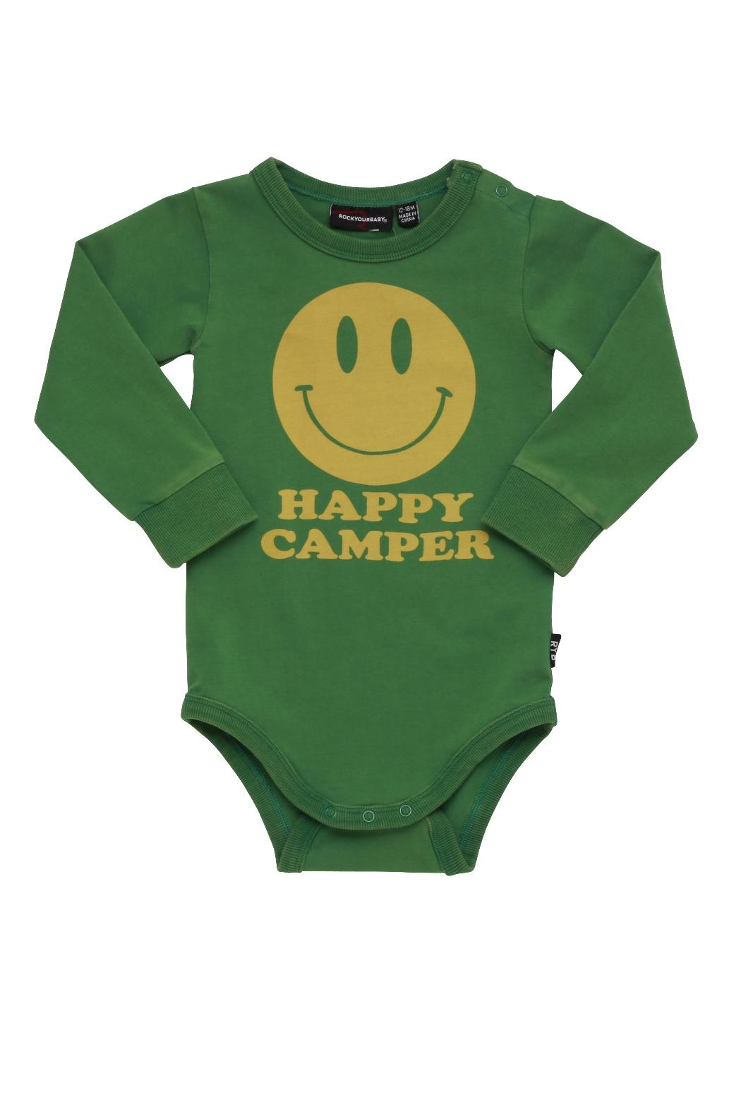 Rock Your Baby Happy Camper Bodysuit - Main Image