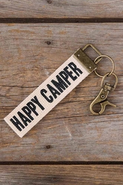 Natural Life Happy Camper Keychain - Product Mini Image
