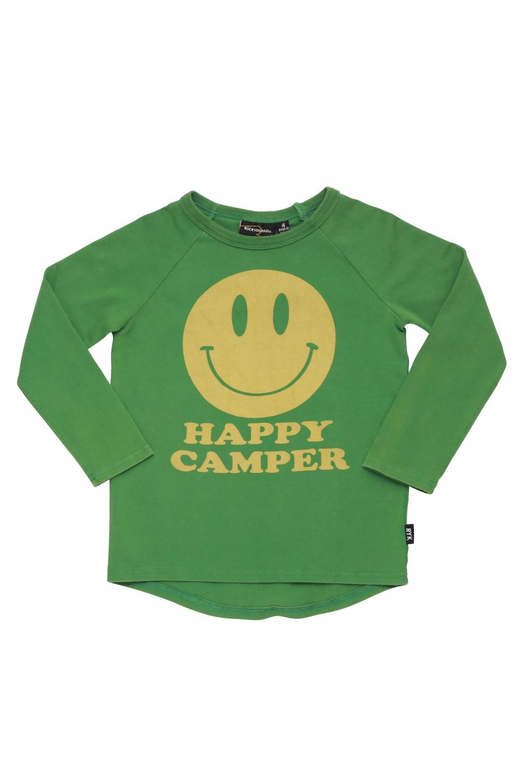 Rock Your Baby Happy Camper Top - Front Cropped Image