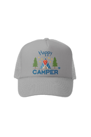 Grom Squad Happy Camper Trucker Hat - Front cropped