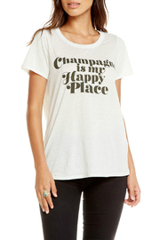Chaser Happy Champagne Drape Back Tee - Product Mini Image
