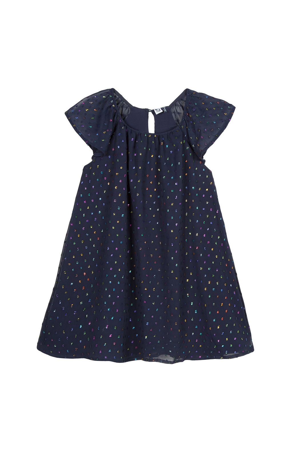 3Pommes Happy Coral Dress - Main Image