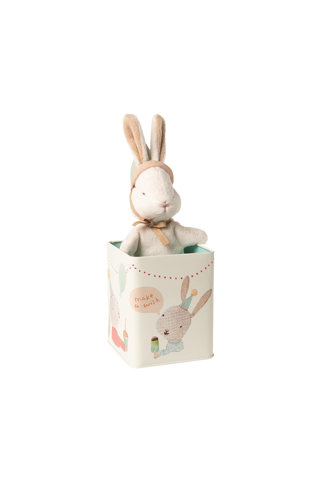 Maileg Happy Day Bunny In A Box Small - Main Image