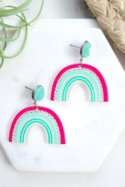 Spiffy & Splendid Happy Day Earrings - Product Mini Image