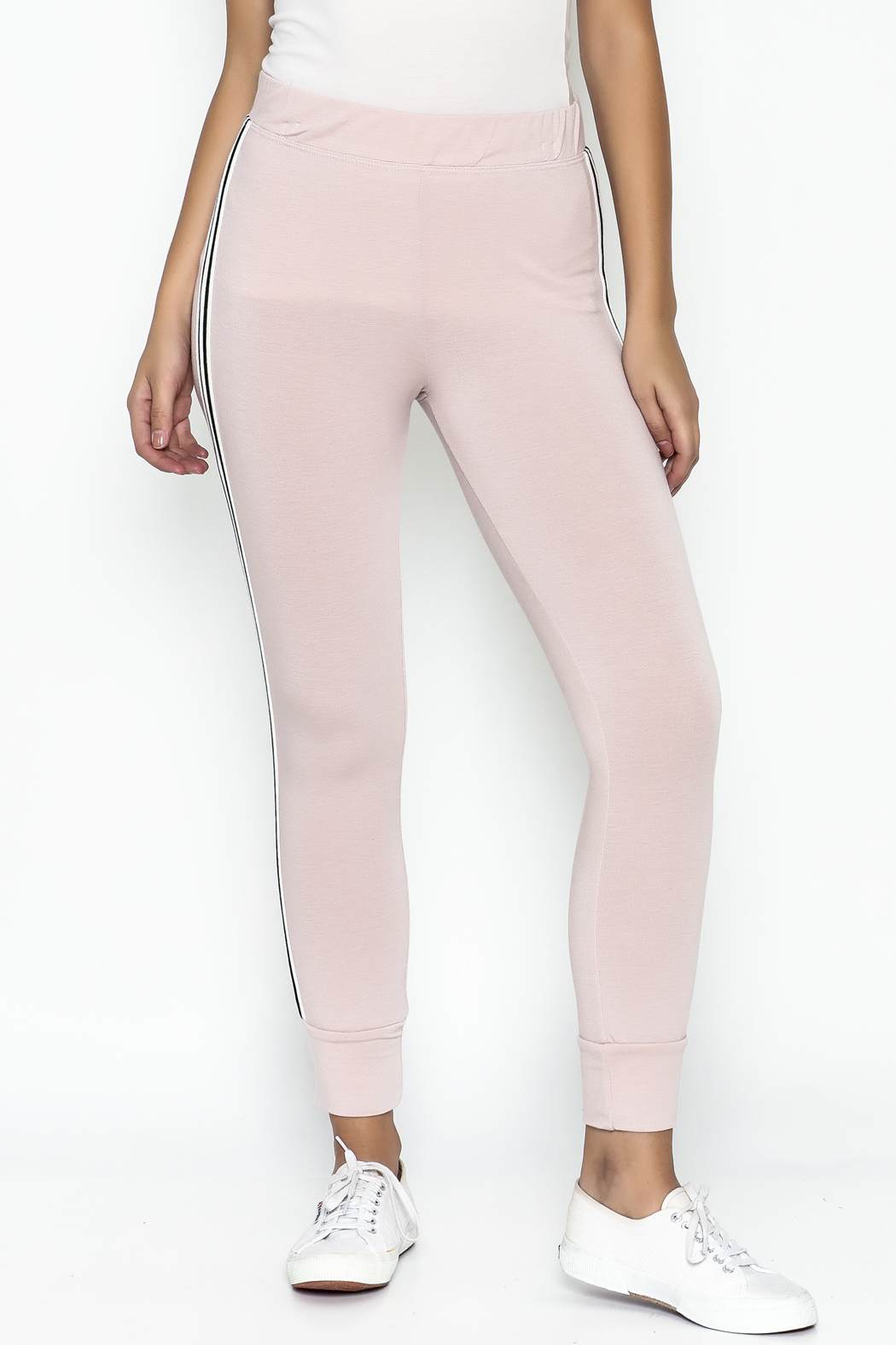 Happy Days USA Millennial Pink Jogger Pants - Main Image