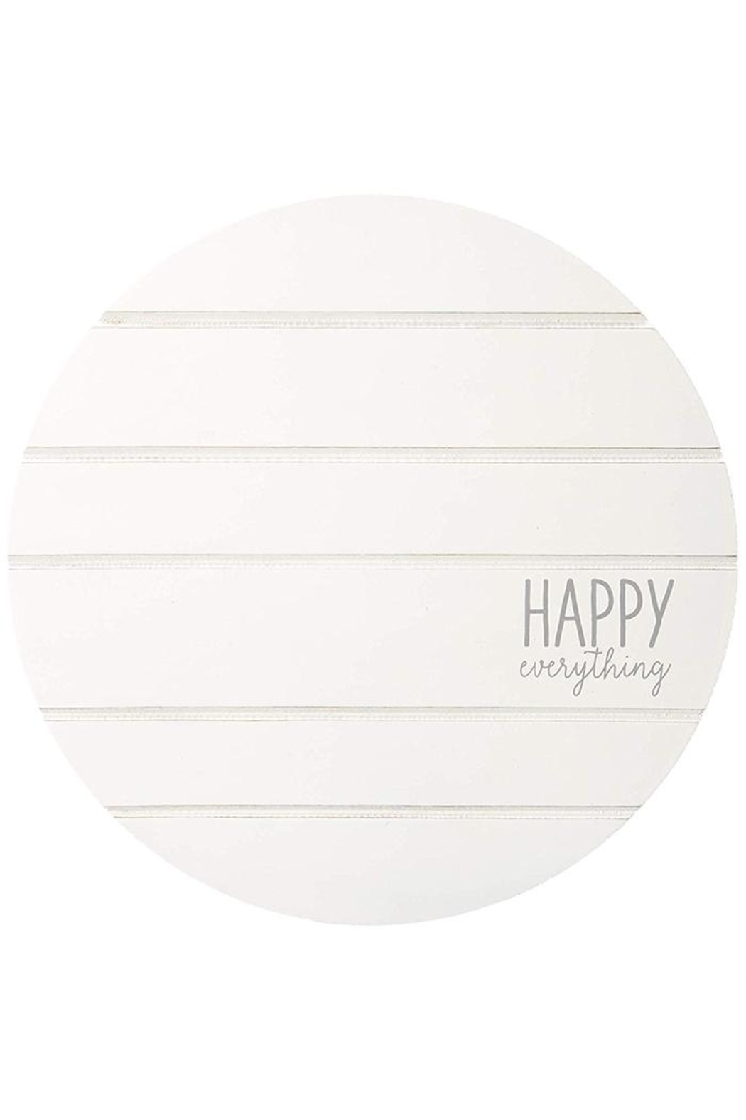 Mud Pie Happy-Everything Spinner Plate - Main Image