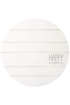 Shoptiques Product: Happy-Everything Spinner Plate