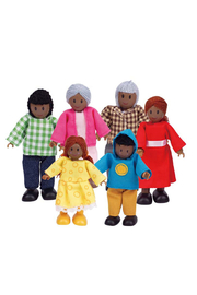 Hape Happy Family-African American - Product Mini Image