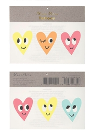 Meri Meri Happy Heart Tattoos - Front cropped