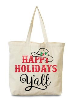 Arden Clothing Happy Holidays Tote - Product List Image