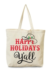Arden Clothing Happy Holidays Tote - Product Mini Image