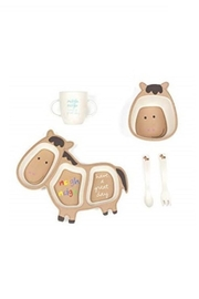 Manual Woodworkers and Weavers Happy Horse Dishset - Front cropped
