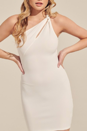 blue blush Happy Hour Dress - Front cropped