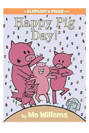 Hachette Book Group Happy Pig Day! An Elephant & Piggie Book - Product Mini Image