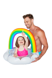 Big Mouth Happy Rainbow Lil' Float - Product Mini Image