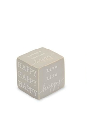 Gift Craft Happy Sentiment Block - Front cropped