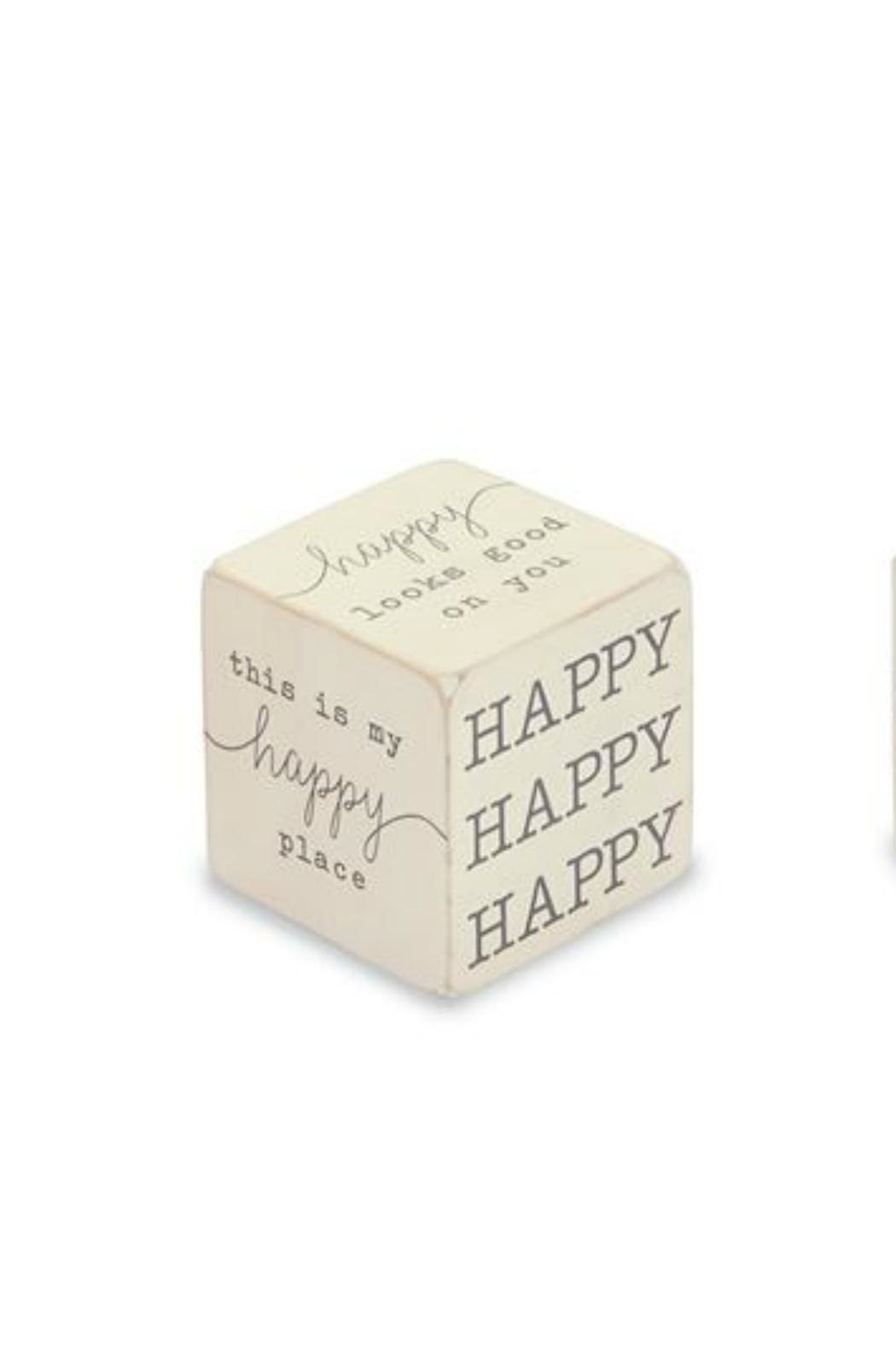 Gift Craft Happy Sentiment Block - Front Cropped Image