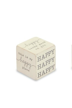 Gift Craft Happy Sentiment Block - Product List Image