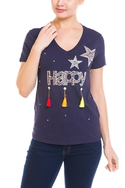 Noble U Happy Tassel-Graphic Tee - Product Mini Image