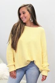 She + Sky Happy To Be Here Sweater - Side cropped