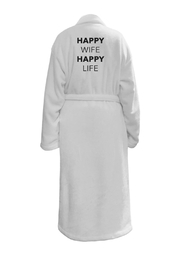 Los Angeles Trading Co.  Happy Wife Robe - Product Mini Image