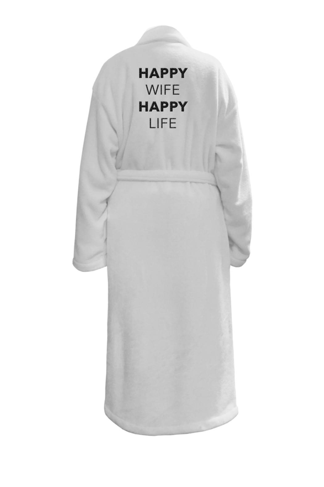LA Trading Co. Happy Wife Robe - Front Cropped Image