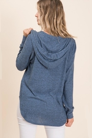 MapleSage Brushed Zip Hoodie - Front full body