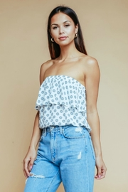 Olivaceous HARBOR TUBE TOP - Product Mini Image