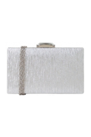 JNB Hard Case Clutch W Jewel Top - Front cropped
