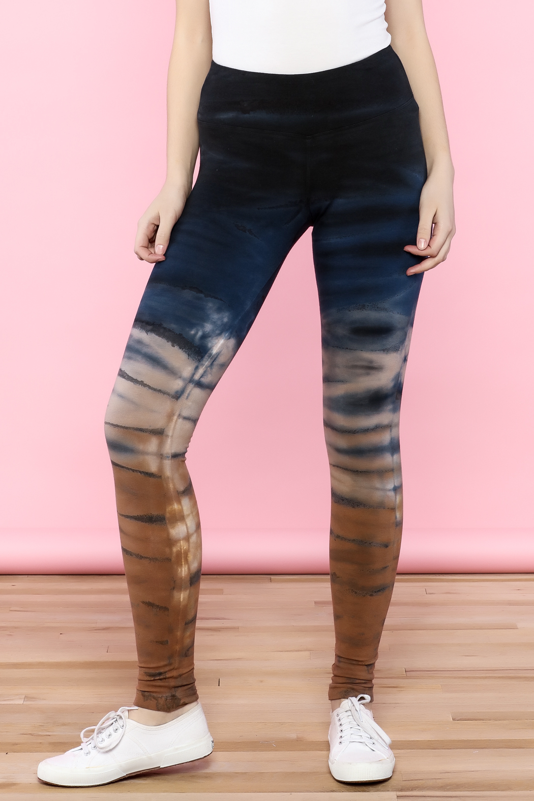 Hard Tail High-Waist Legging - Front Cropped Image
