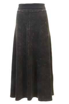 Hard Tail Forever A-Line Denim Cotton Skirt with Rolldown Waistband Style B-131 - Product List Image