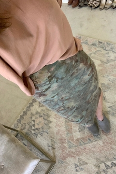 Shoptiques Product: Tie Dye Thermal Skirt