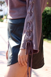 Hard Tail Forever  Lace Up Pullover - Front full body