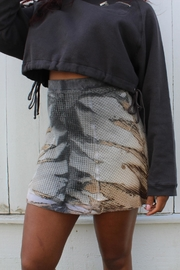 Hard Tail Forever  Tiedye Mini Skirt - Product Mini Image