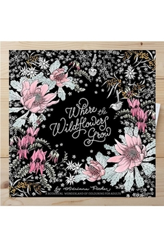 Shoptiques Product: Wildflowers Coloring Book