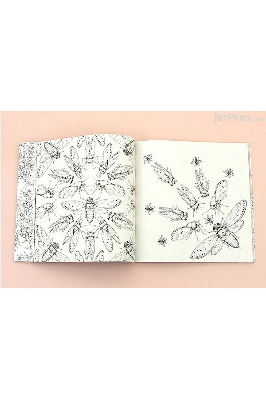 Hardie Grant Wildflowers Coloring Book - Front Full Image