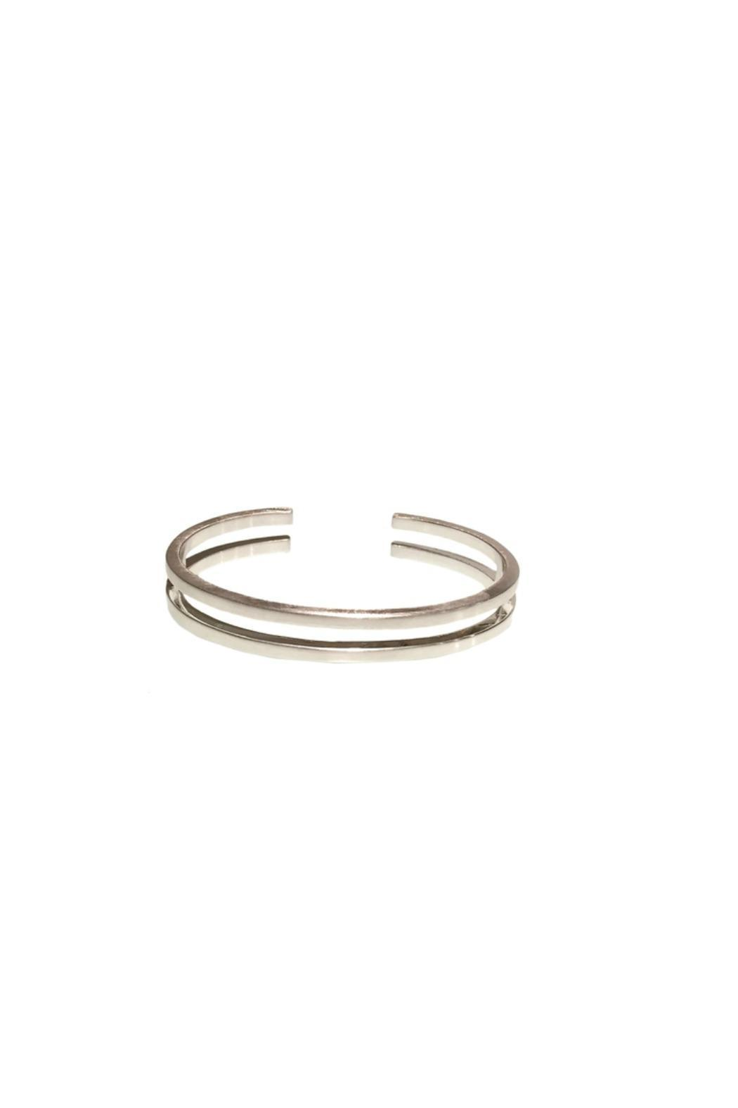 Hardt Jewelry Slim Equal Cuff - Front Cropped Image