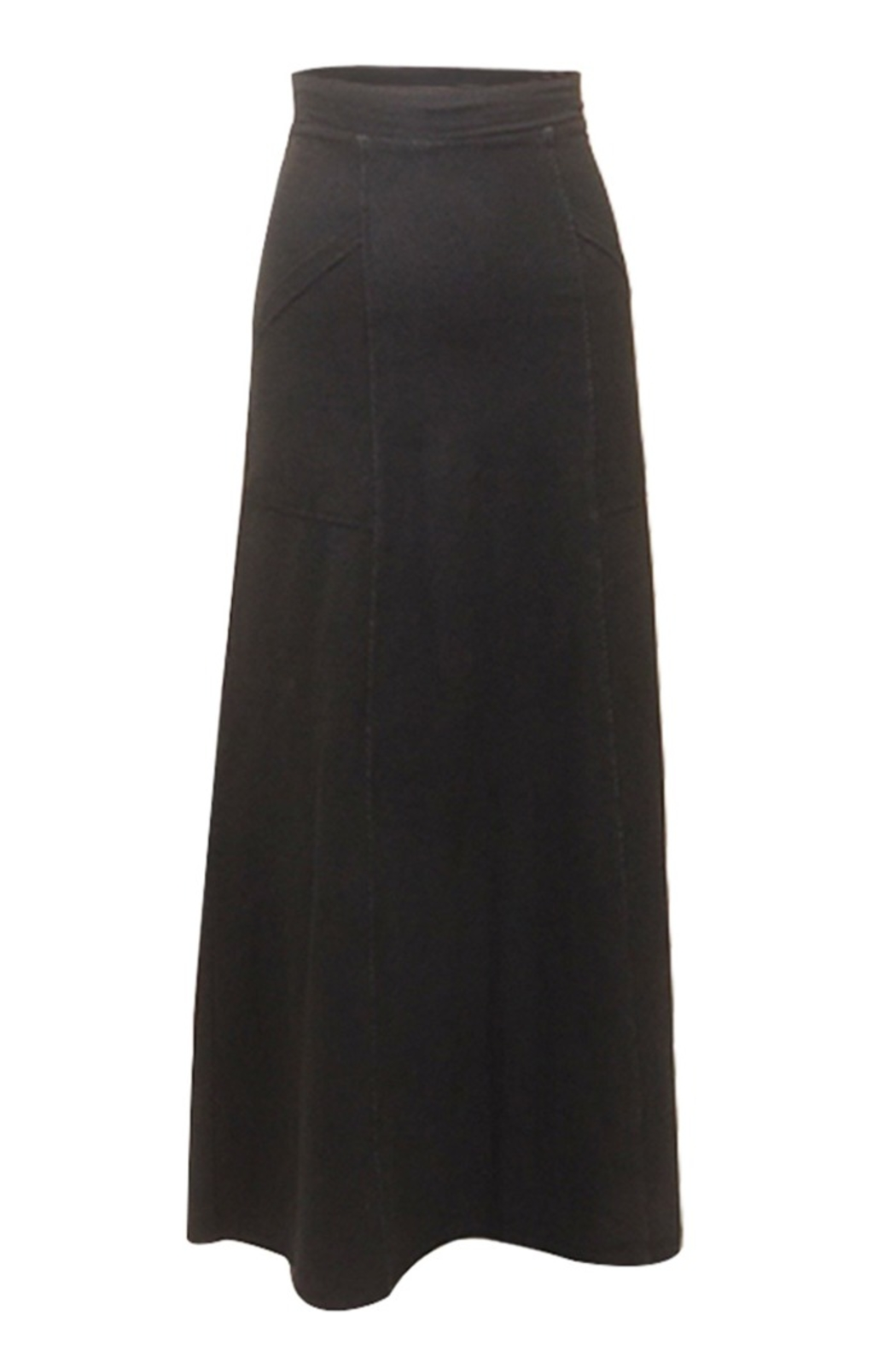 Hard Tail Hardtail Angle Pocket Long Skirt RAC-18 - Front Cropped Image