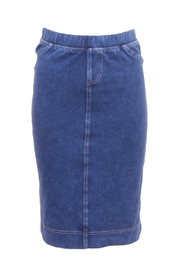 Hard Tail Hardtail Denim Pencil Skirt WJ-124 - Front cropped