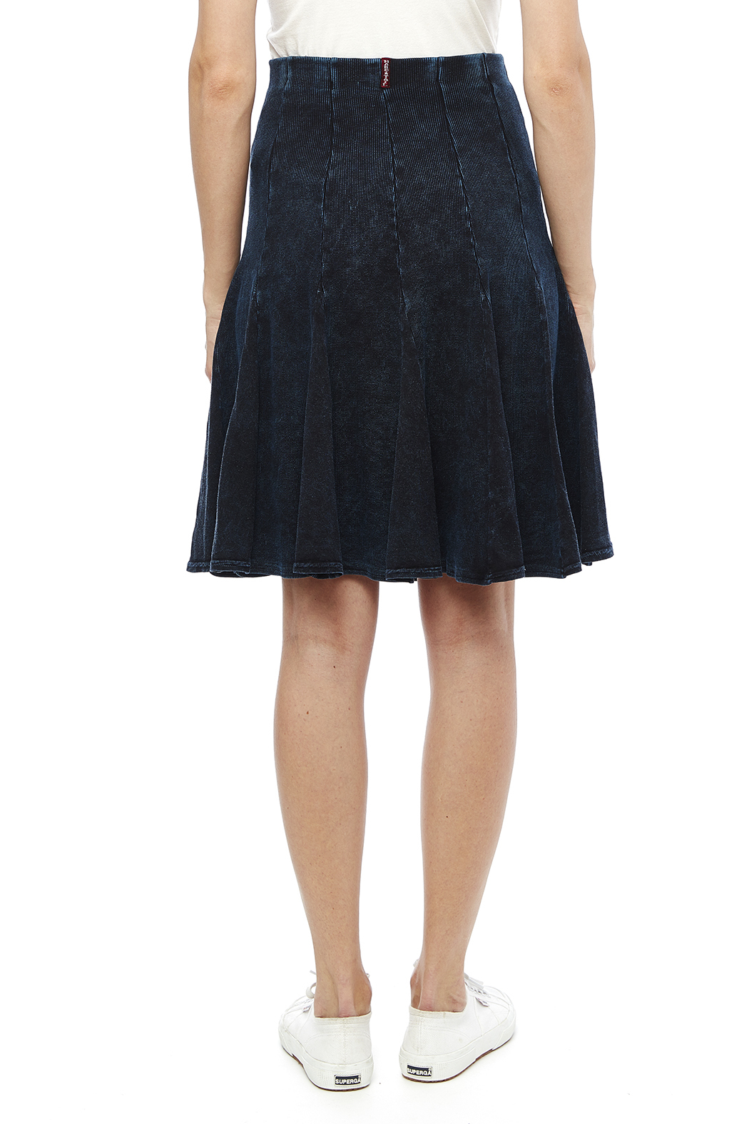 Hard Tail Fit-N-Flare Skirt - Back Cropped Image