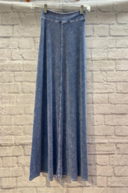 Hardtail Flat Waist Sweep Maxi skirt - Front cropped